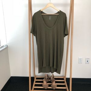 PacSun - Me To We Olive Green Dress